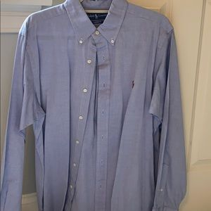 Two Ralph Lauren button down shirts